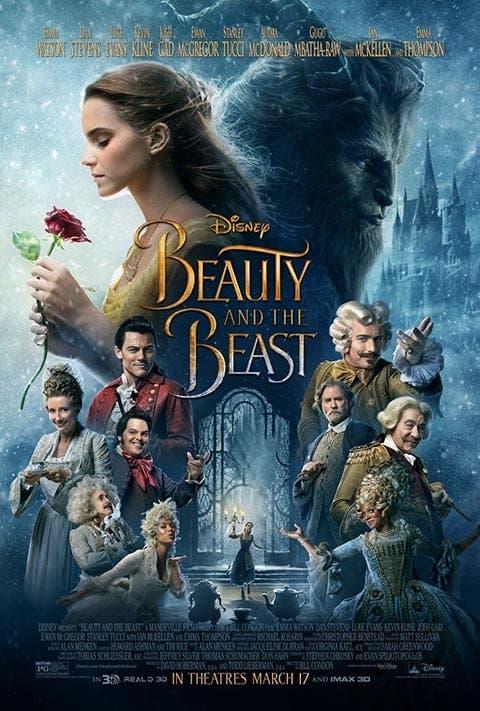 Poster de 'La bella y la bestia'