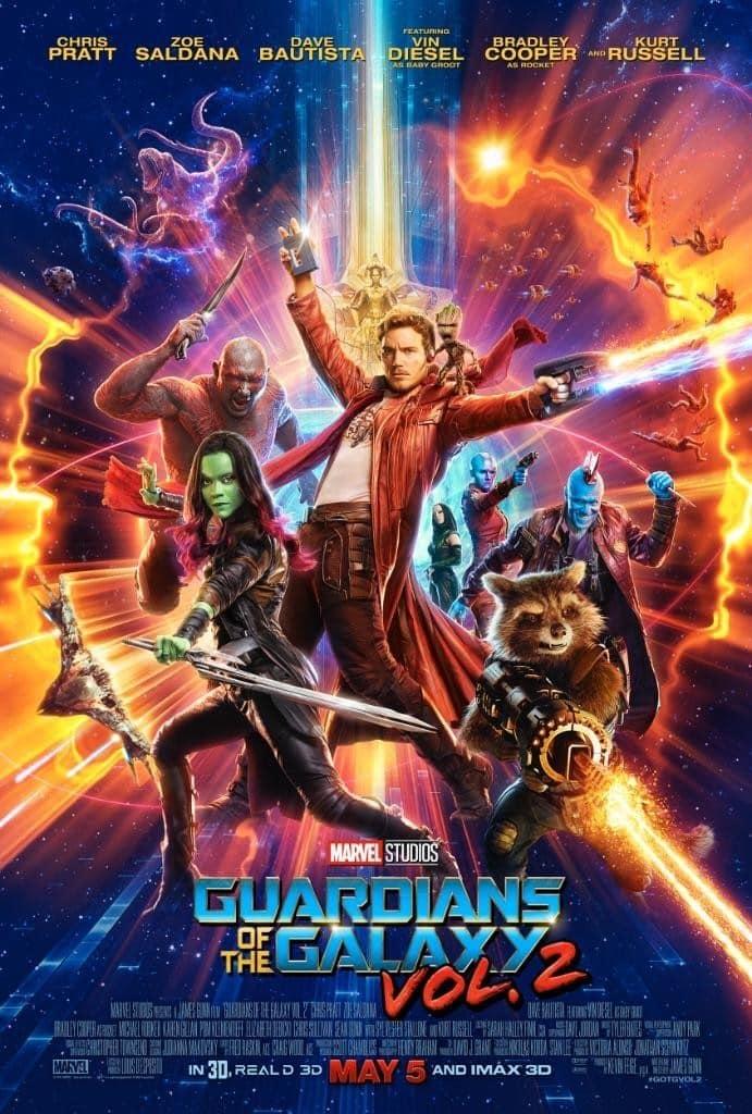 Poster de 'Guardianes de la Galaxia Vol. 2'