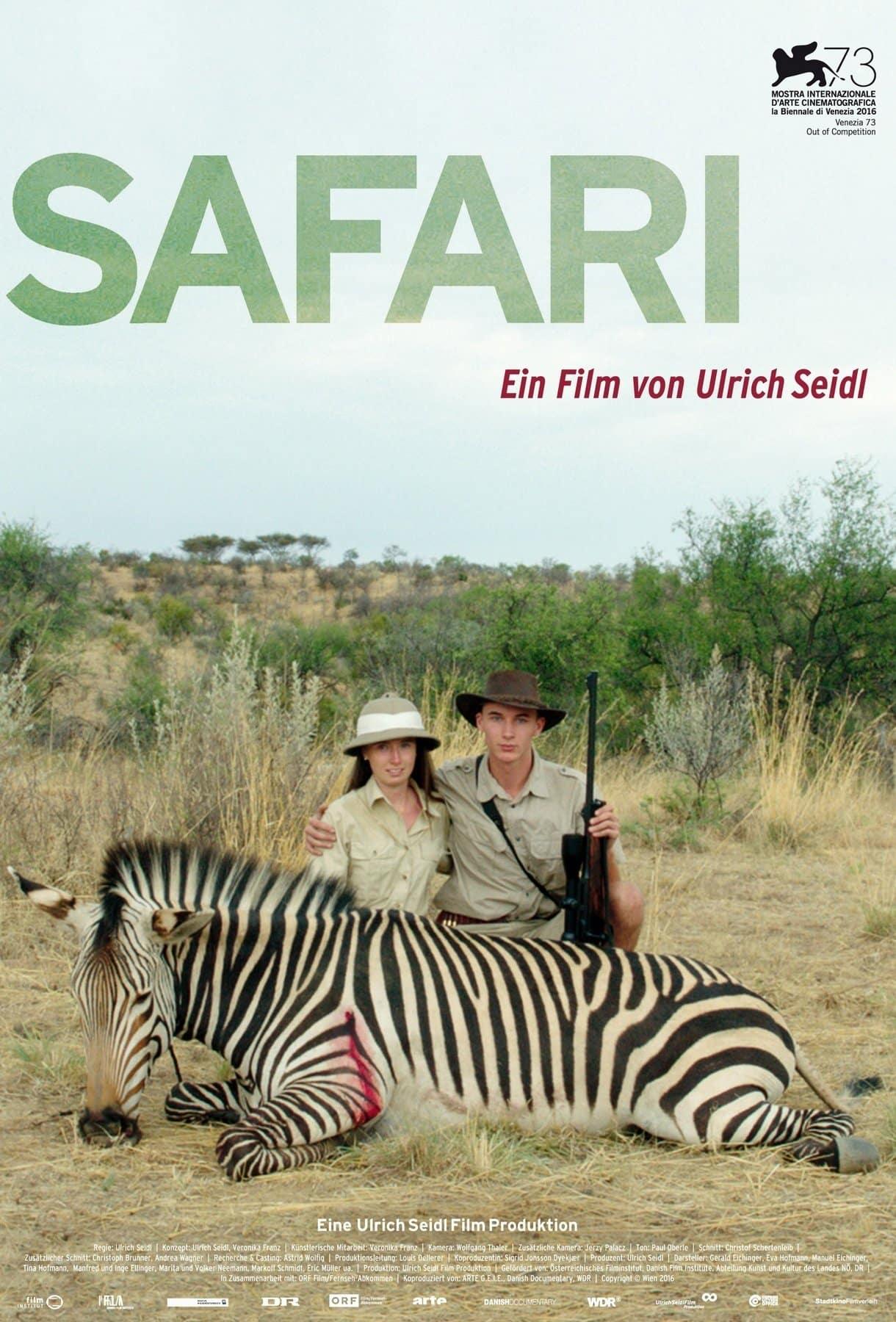 Poster de 'Safari'