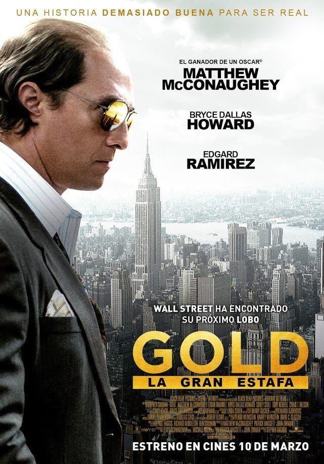 Poster de 'Gold (La gran estafa)'
