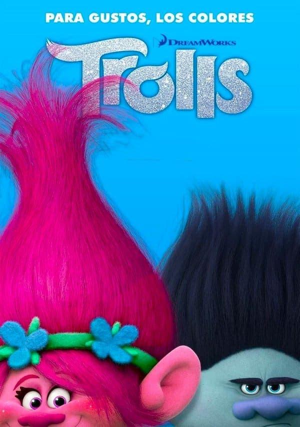 Poster de 'Trolls'