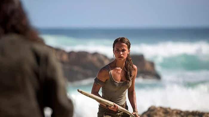 Alicia Vikander como Lara Croft en el reboot de Tomb Raider (2018)