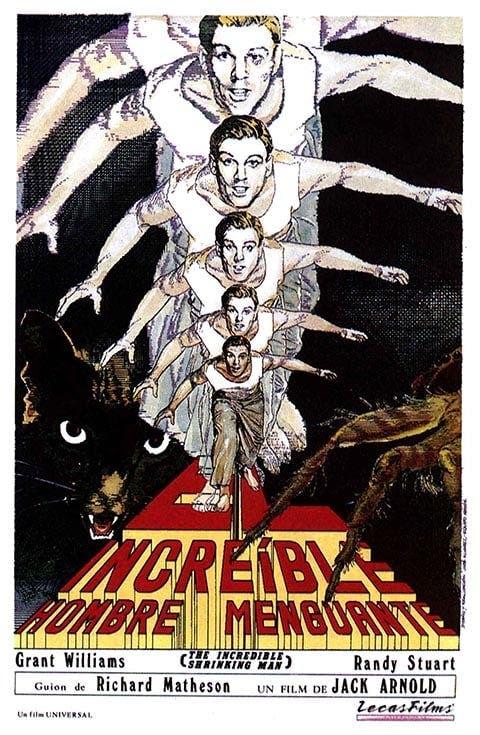 Poster de 'El increíble hombre menguante'