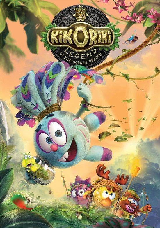 Poster de 'Kikoriki. Legend of the Golden Dragon'