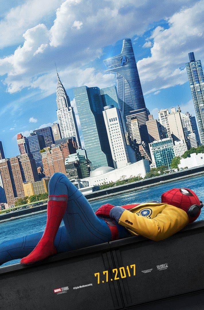 Los Vengadores en el nuevo póster de 'Spider-Man: Homecoming'