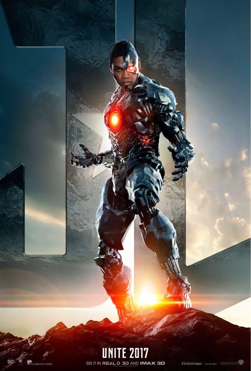 Cyborg La Liga de la justicia