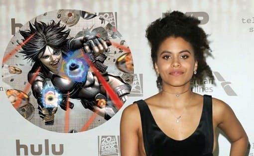 Este podría ser el look de Zazie Beetz como Domino en 'Deadpool 2'