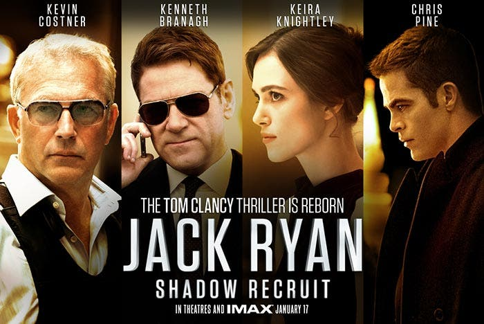 'Jack Ryan: Operación Sombra' en los estrenos de Netflix de Abril de 2017