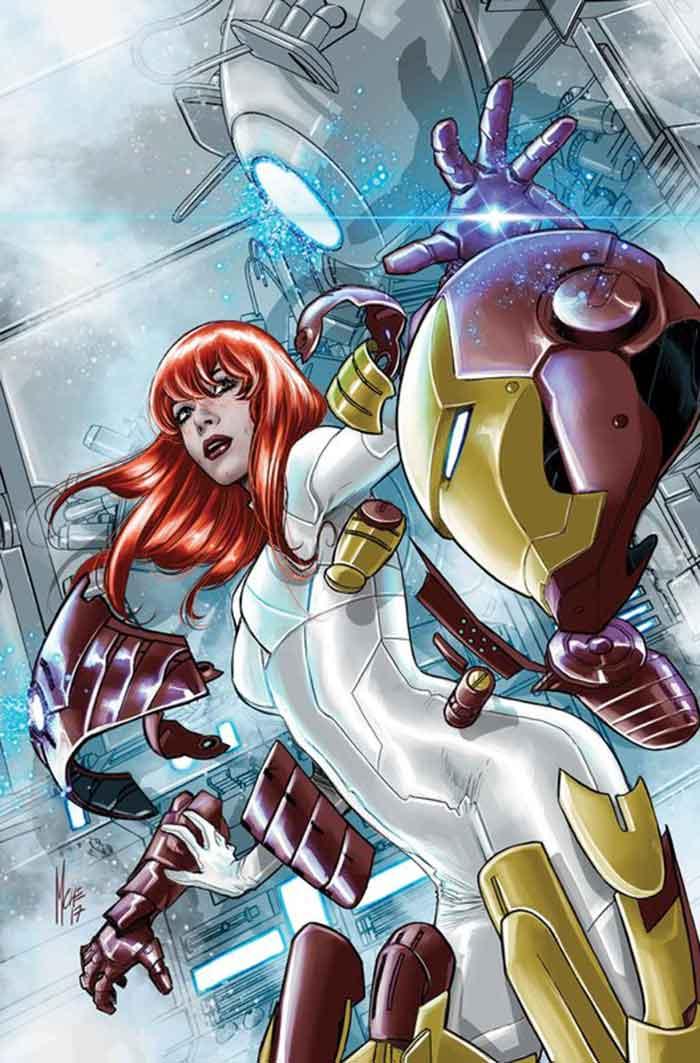 Mary Jane Watson se convierte en todos los superhéroes de Marvel