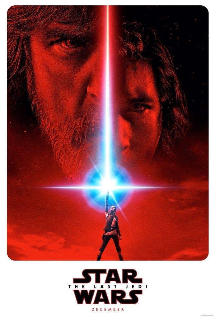 Poster oficial de Star Wars: Los últimos Jedi