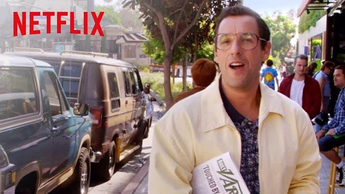 'Sandy Wexler' en los estrenos de Netflix en Abril de 2017