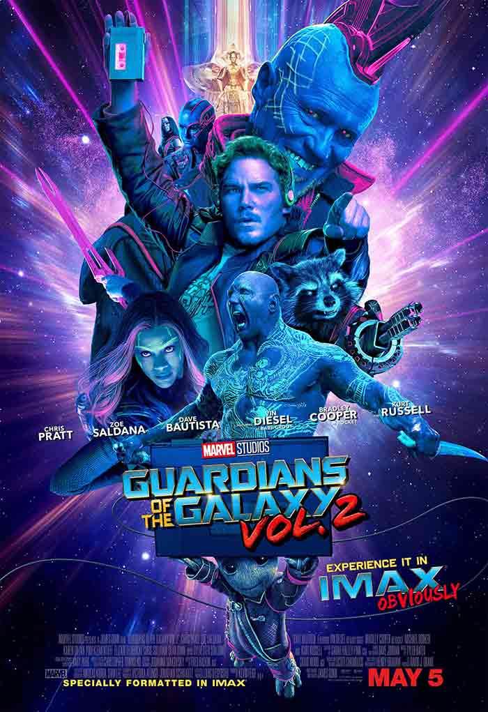 Super Baby Groot en el nuevo póster de Guardianes de la Galaxia Vol. 2