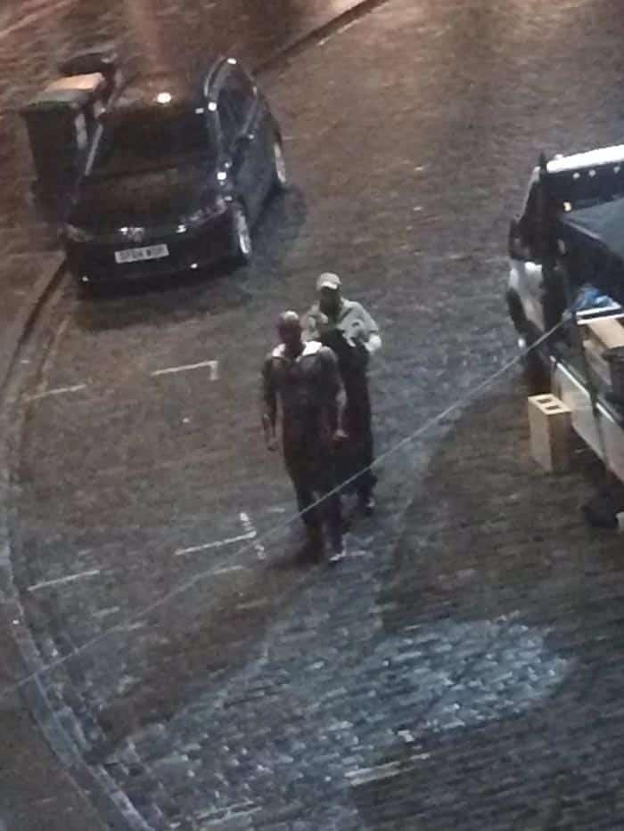 Primera imagen de Visión con el traje en 'Vengadores: Infinity War'