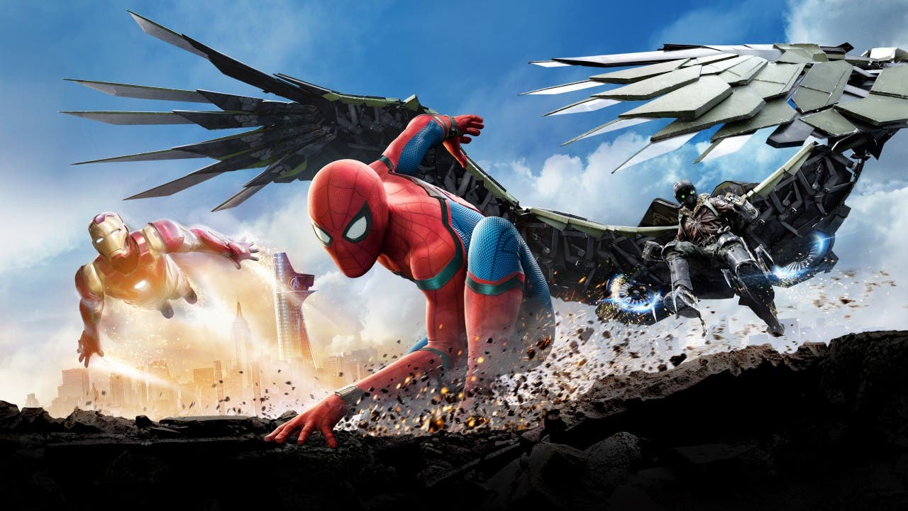 Wallpaper spider-man: homecoming