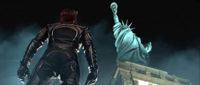 Wolverine statue liverty