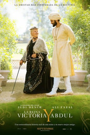 "Poster for the movie ""Victoria & Abdul"""