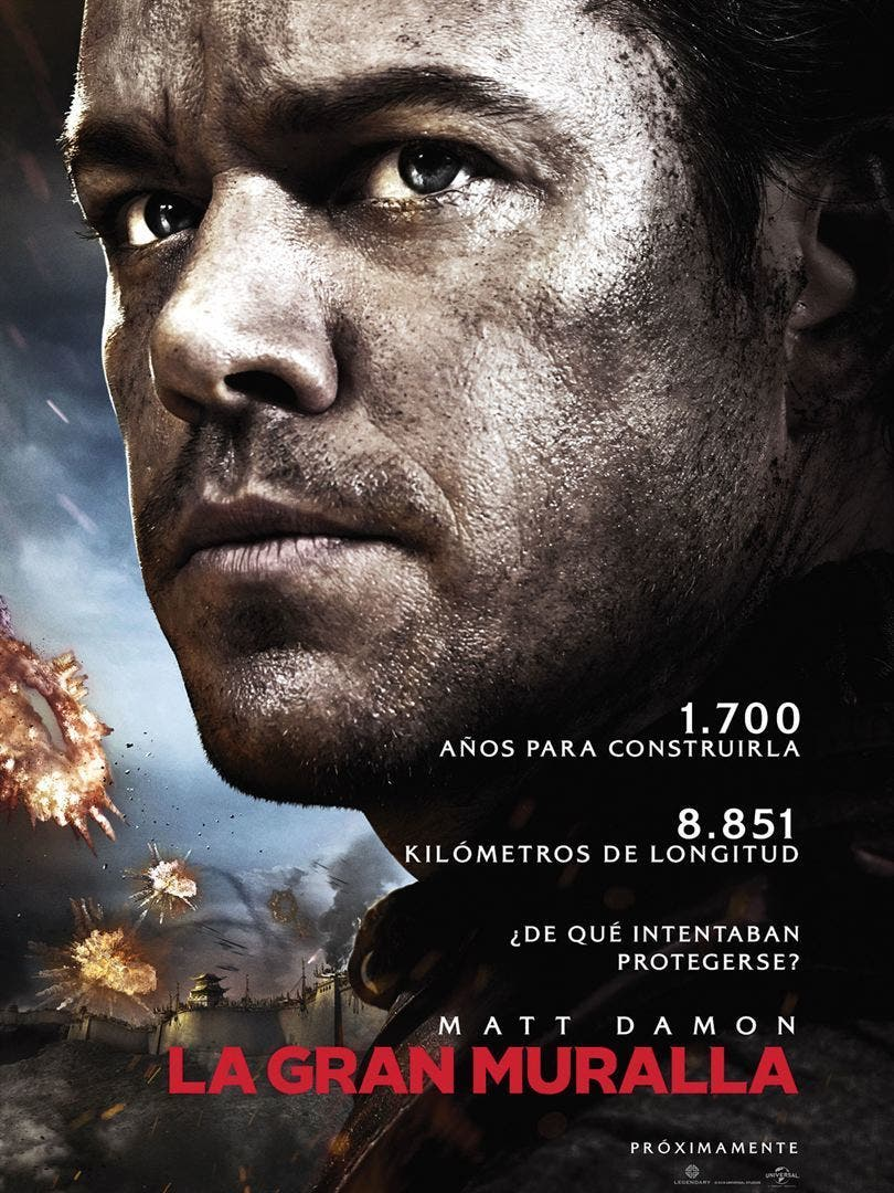 Poster de 'La gran muralla'