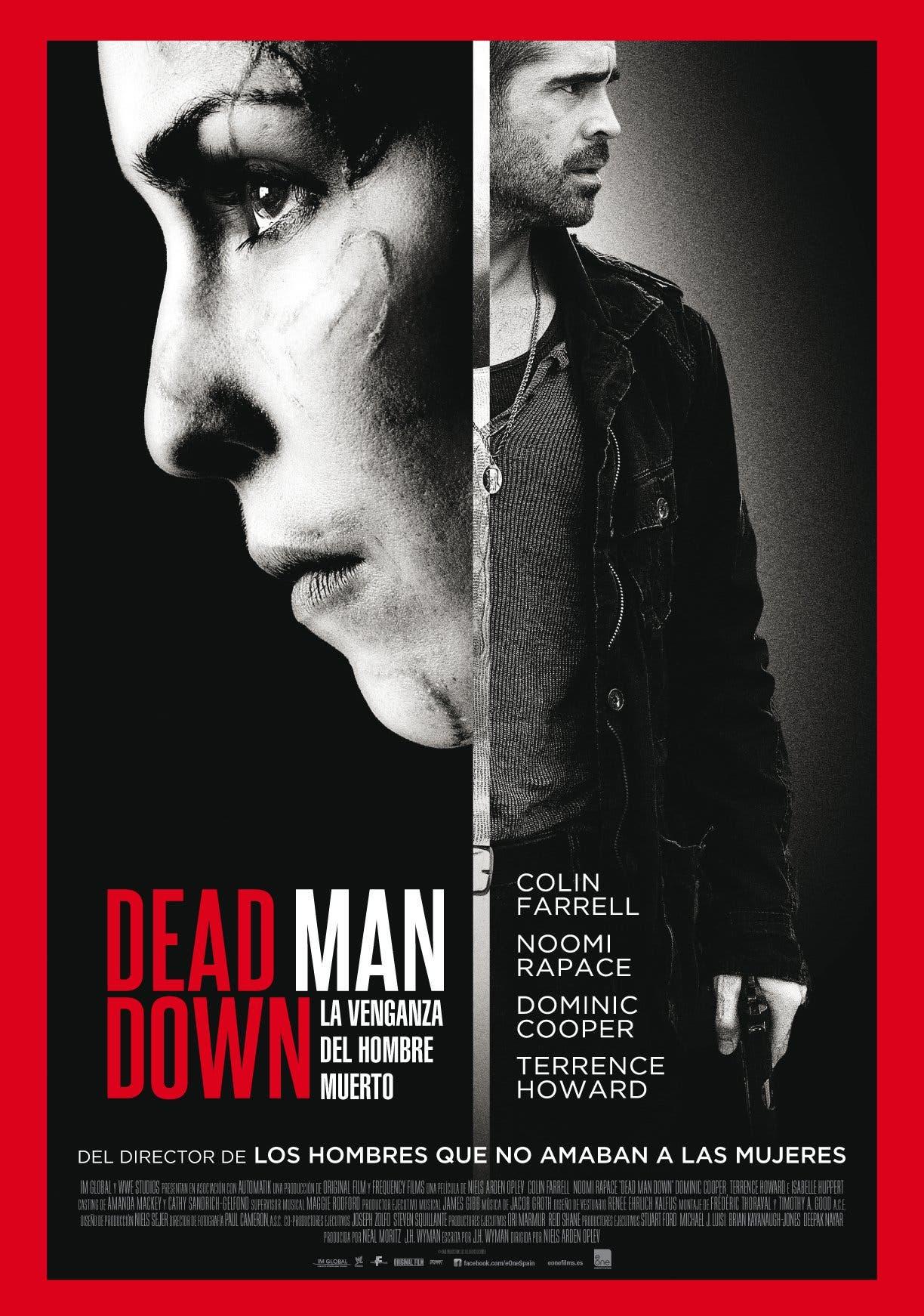 Poster de 'La venganza del hombre muerto'
