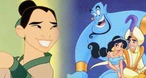 Aladdin y Mulan