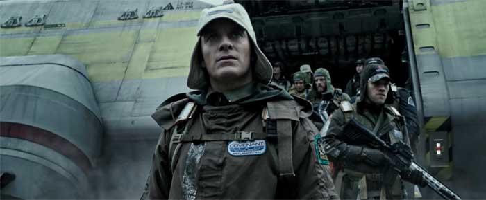 Alien: Covenant: Michael Fassbender