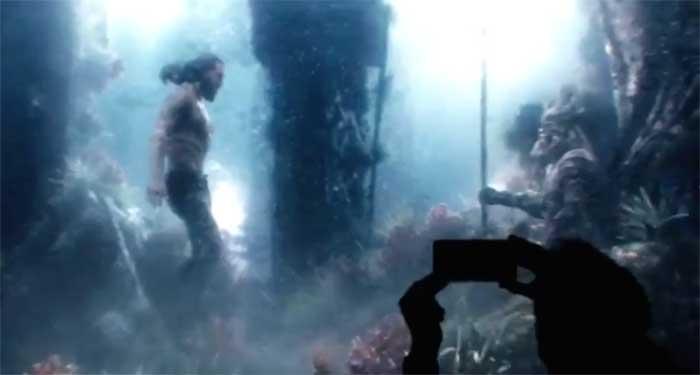 La liga de la justicia - Aquaman