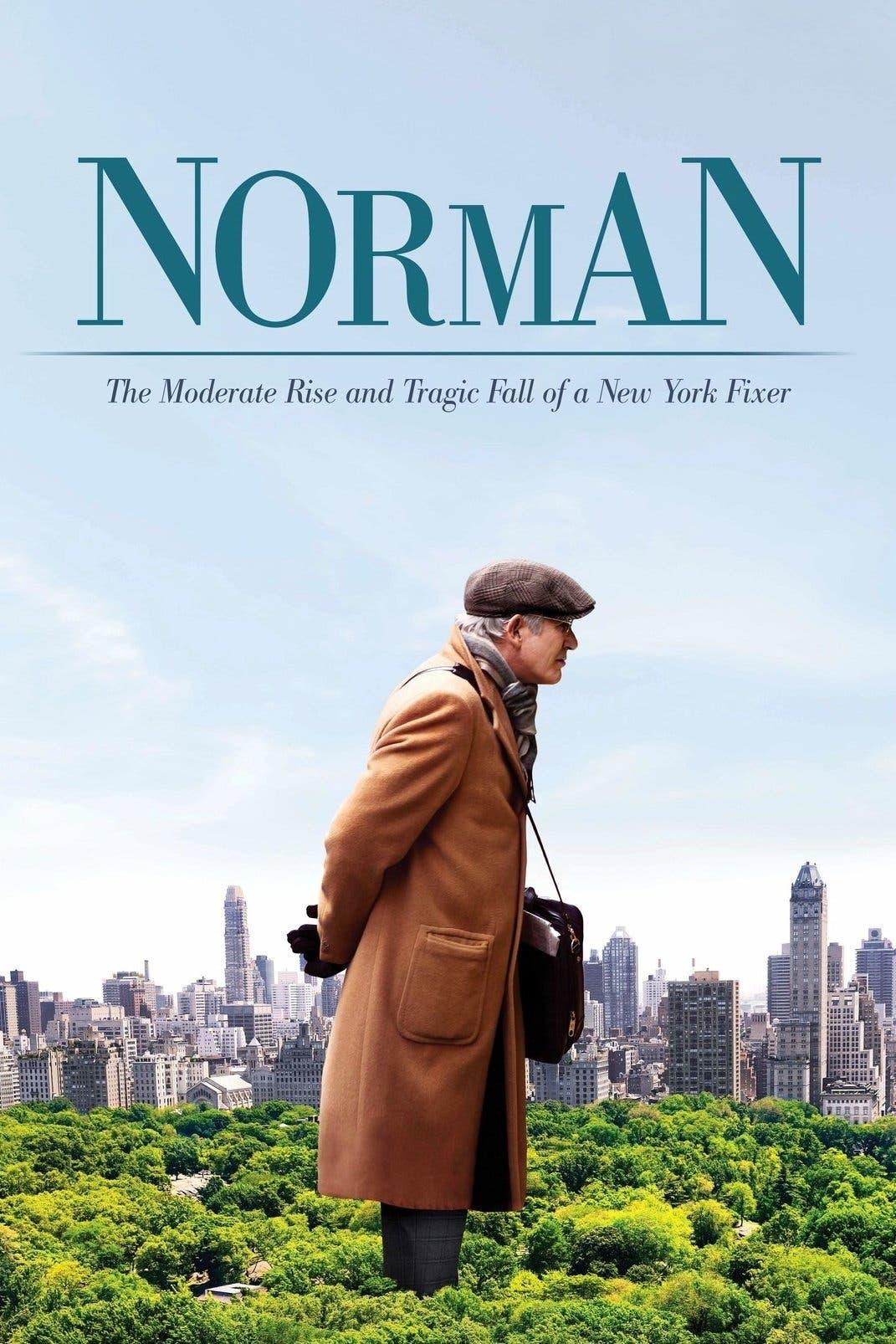 Poster de 'Norman, el hombre que lo conseguía todo'