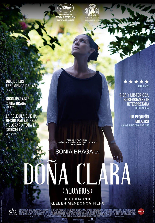 Poster de 'Doña Clara'