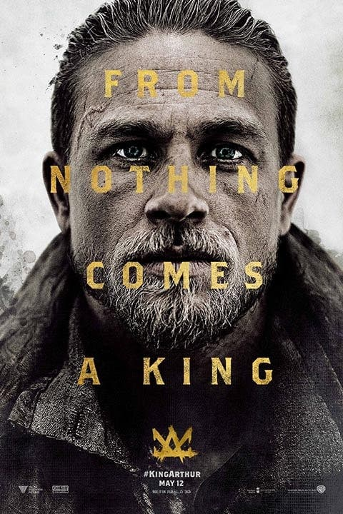 Poster de 'Rey Arturo: La leyenda de Excalibur'