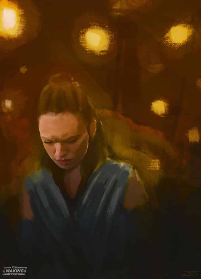 Filtrado un concept art de Rey en 'Star Wars: Los Últimos Jedi'