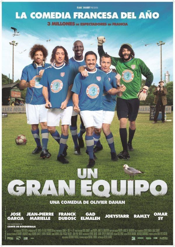 Poster de 'Un gran equipo'