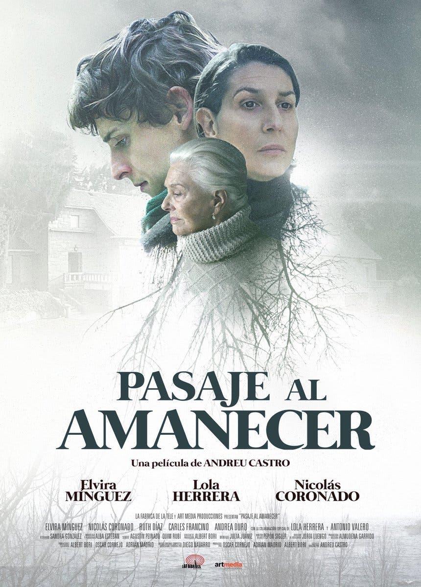 Poster de 'Pasaje al amanecer'