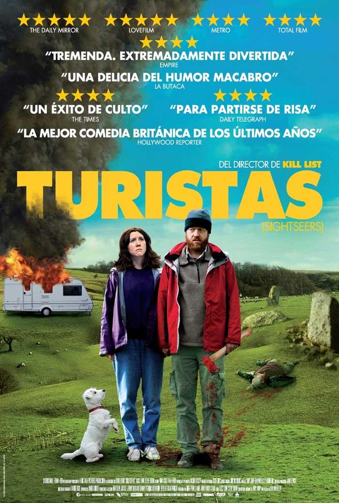 Poster de 'Turistas'