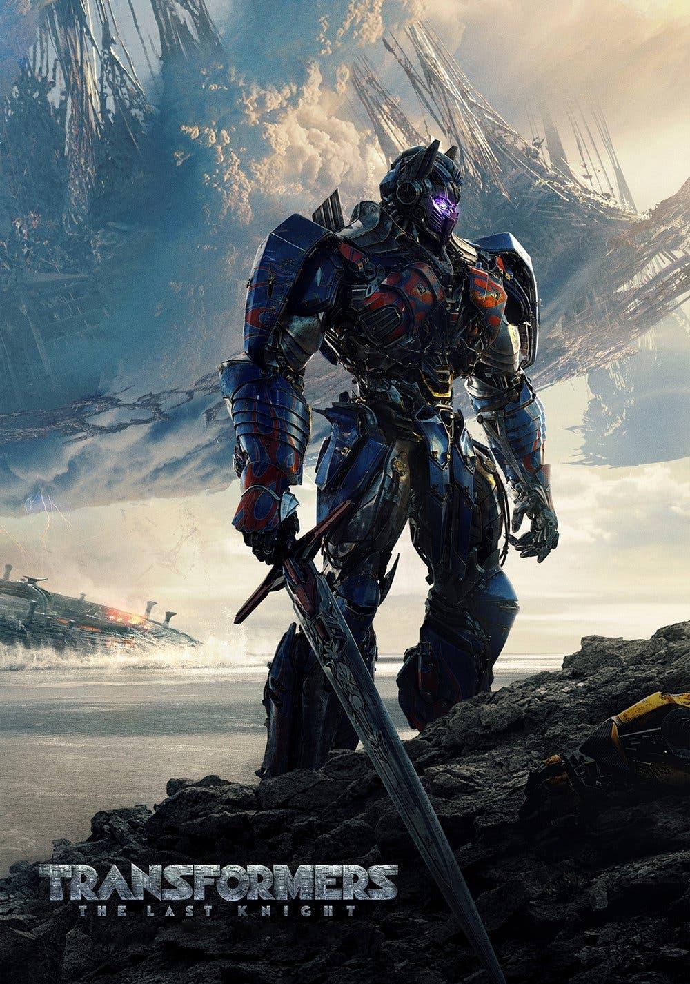 Poster de 'Transformers: El último caballero'