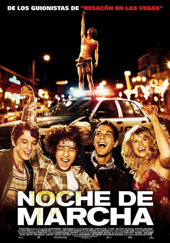 Poster de 'Noche de marcha'