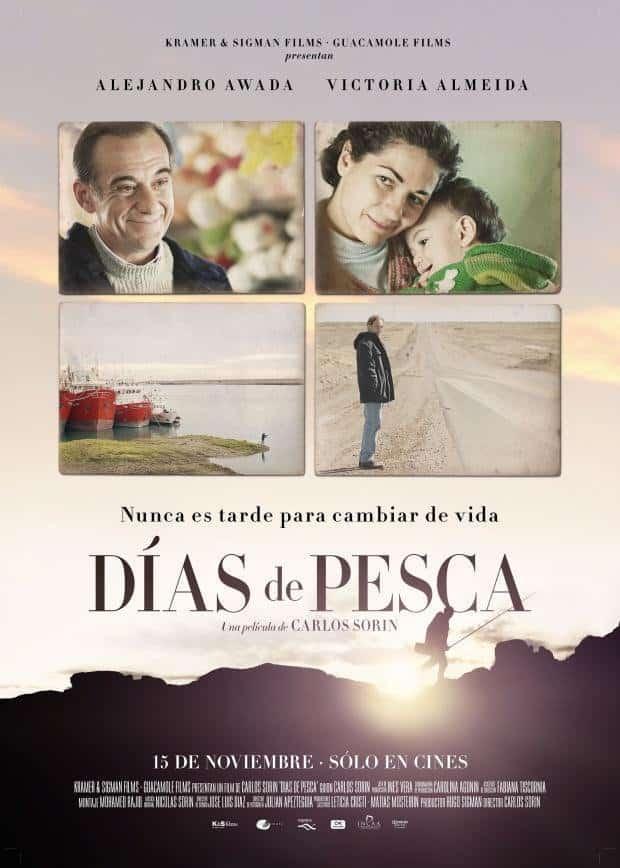Poster de 'Días de pesca en Patagonia'