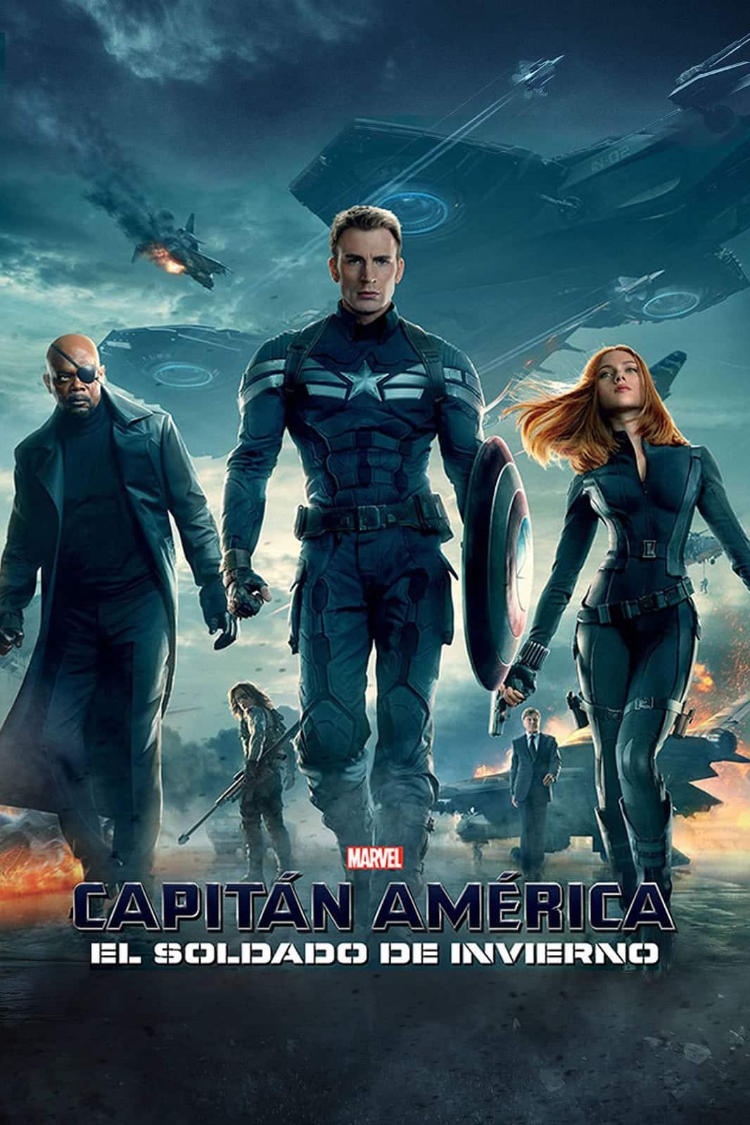 Poster de 'Capitán América: El soldado de invierno '