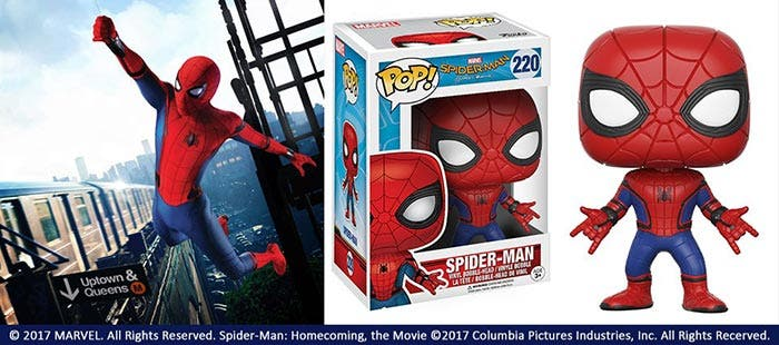 'Spider-Man: Homecoming': Arte promocional y Funko Pop de Spider-Man