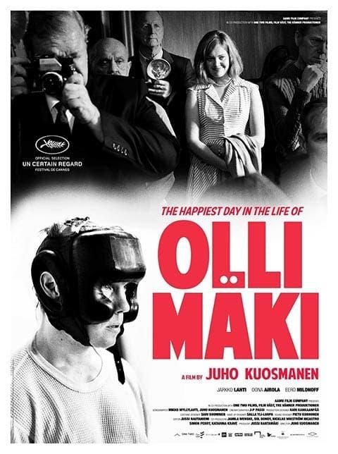 Poster de 'El día más feliz en la vida de Olli Mäki'