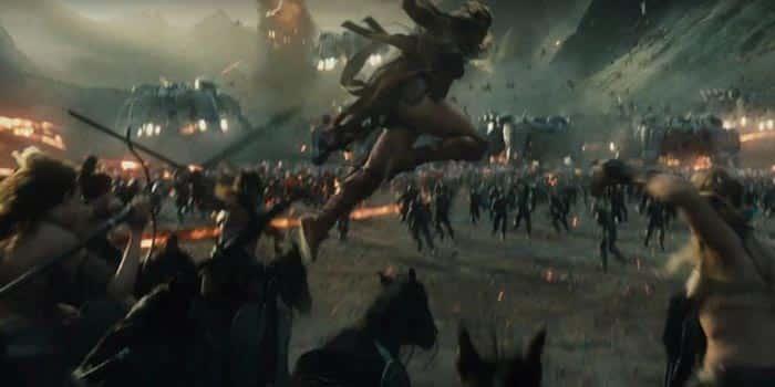 La guerra de las amazonas en la 'Liga de la Justicia'
