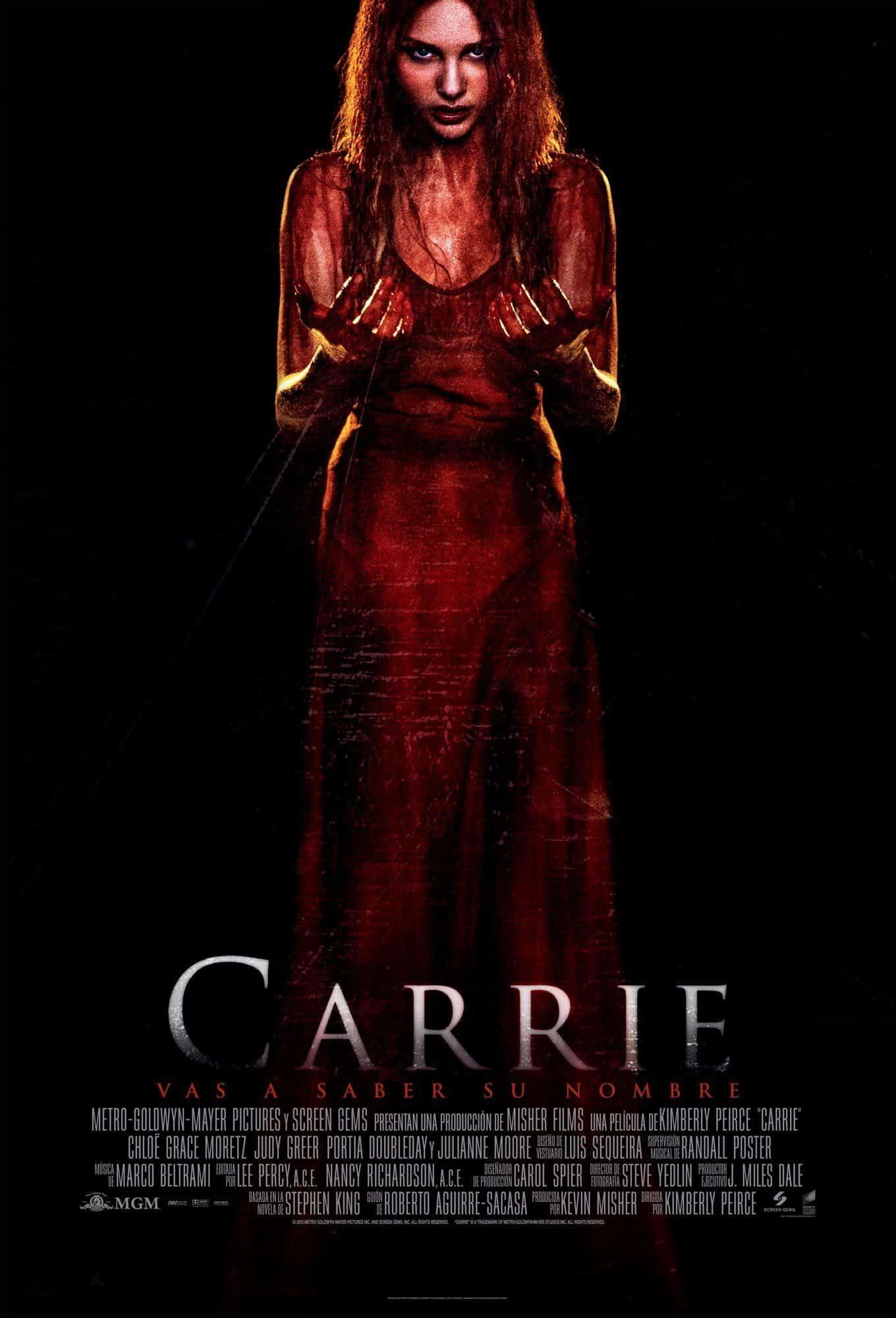 Poster de 'Carrie'