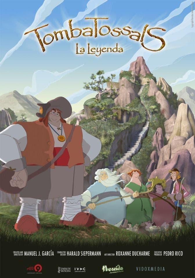Poster de 'Gigantes. La Leyenda De Tombatossals'