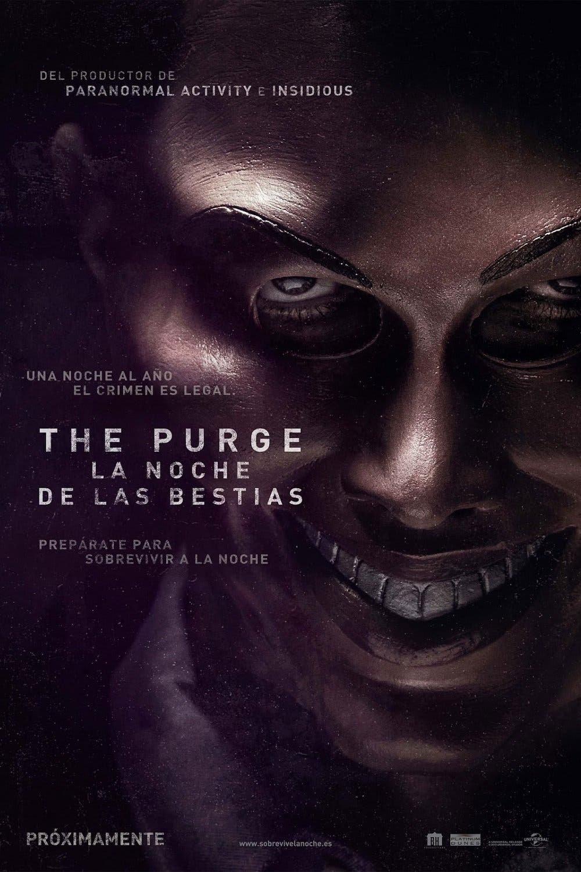 Poster de 'The purge: La noche de las bestias'