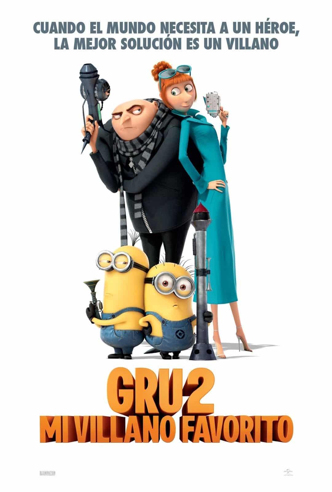 Poster de 'Gru 2. Mi villano favorito'