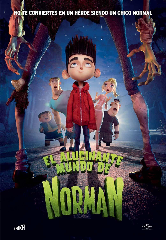 Poster de 'El alucinante mundo de Norman'