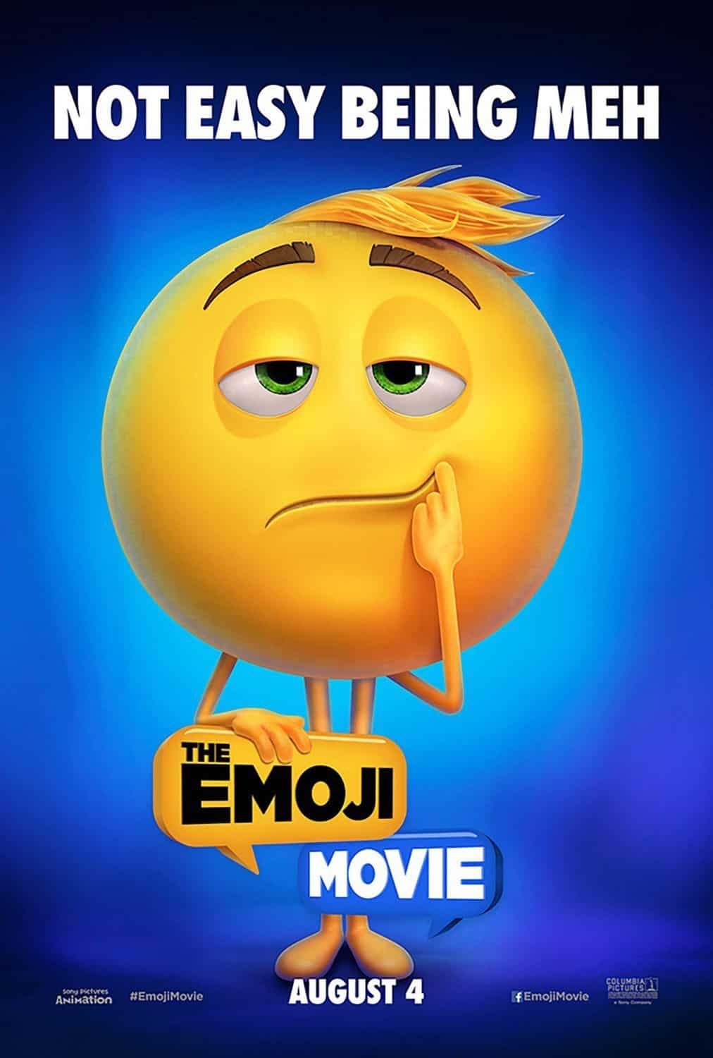 Poster de 'The Emoji Movie'