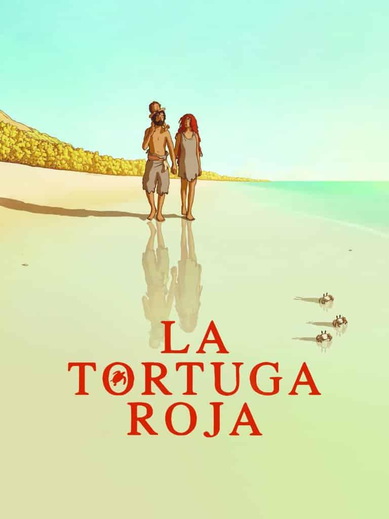 Poster de 'La tortuga roja'
