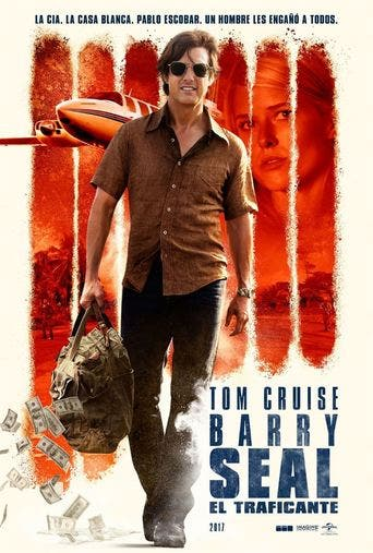 "Poster for the movie ""Barry Seal: El traficante"""