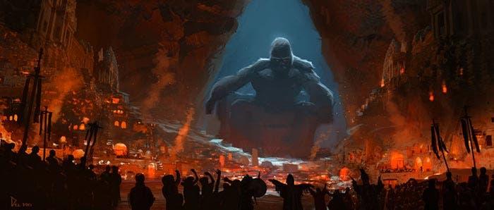 'Kong: Skull Island': Impresionantes concept arts de King Kong
