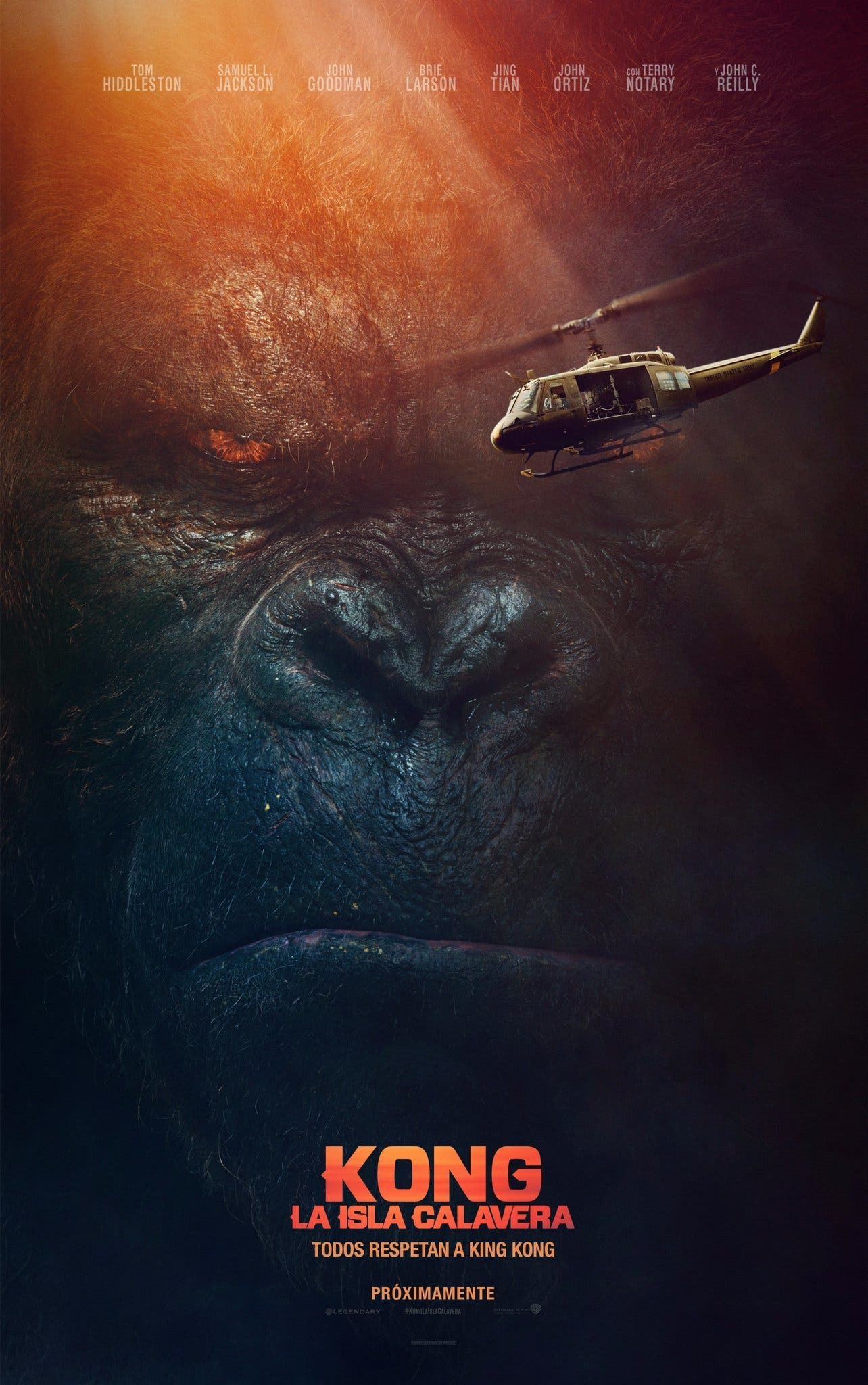 Poster de 'Kong: La isla Calavera' (Kong: Skull Island)