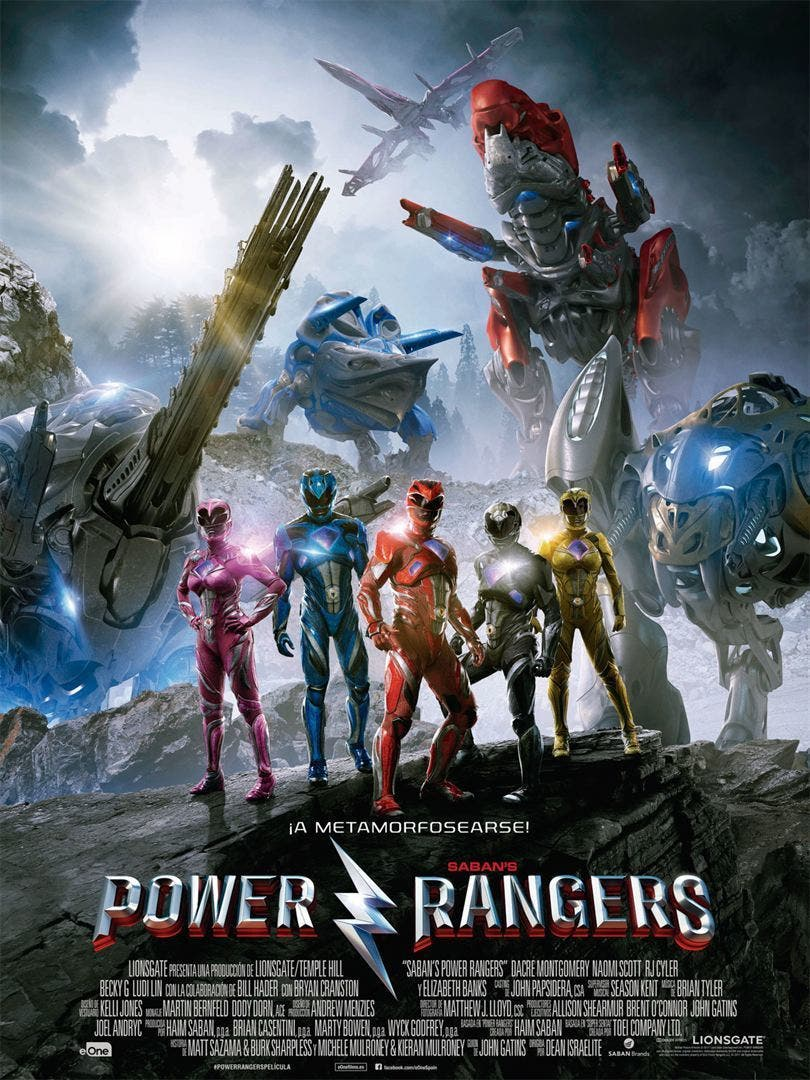 Poster de 'Power Rangers'